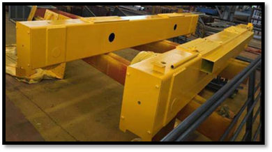 What is the end truck of the overhead crane?_Hoist