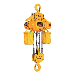 China 1t Hanging Electric Chain Hoist for Single Girder Overhead Crane with Trolley