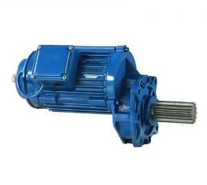 High Quality F Gearbox Helical Geared Reducer with Motor, Motor Reducer