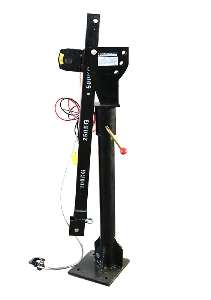 New Type 2000 Lb Engine Hoist Davit Crane Vehicle Lifts Pickup 360 Swivel Base