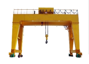 Hot Sale Small Warehouse Double Beam Electric Hoist Mobile Gantry Crane, Double Girder Semi Gantry Crane