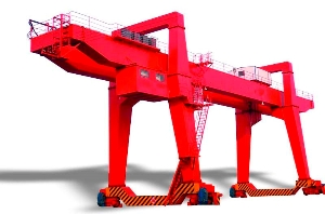 Electric Hoist Double Girder Container Gantry Crane, Goliath Cranes