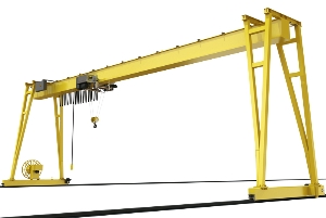 Good Quality Remote Control Lifting Machine Single Girder Gantry Hoist Crane