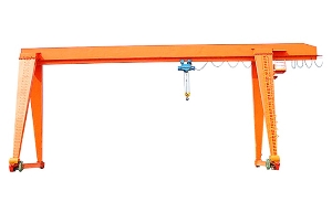 Single Girder a-Frame Gantry Crane Workshop Gantry Crane with Electric Hoist for Sale