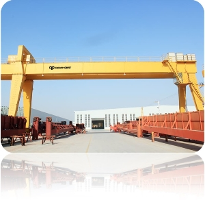 16 Ton Single Girder Overhead Gantry Door Crane with Electric Hoist