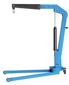 Shop Manual Crane Hydraulic Mobile Floor Engineer Crane Small Hydraulic Crane