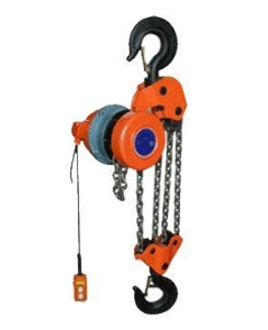 380V 440V G80 Steel Chain Dhp Slow Lifting Speed Small Electric Chain Pulley Hoist Used as Construction Building