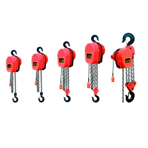 220V Workshop Dhs Type Motorized 2 Ton Electric Pulley System Chain Group Hoist, Endless Chain Motor Lifting Block