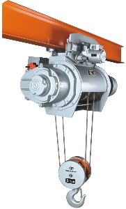 Easy Operated 2T-20T Single or double rail/track Hitachi type monorail crane Electric Cable wire rope Winch Hoist