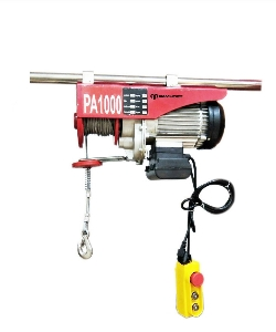 230V PA200A 100/200kg Capacity 10 M/Min / 5 M/Min, 12 M/6 M Single / Double Wire Rope Mini Lifting Electric Hoist