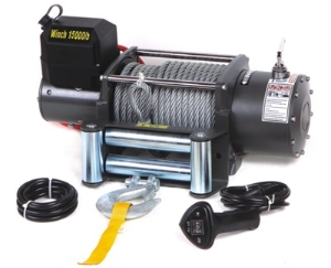 5000lb 4WD 4X4 off Road Vehicle Boat Truck Tractor Winch with 24V DC Motors
