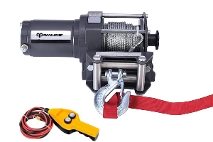 2500/3000/3500/4500/6000lbs Electric ATV Winch with Synthetic Rope