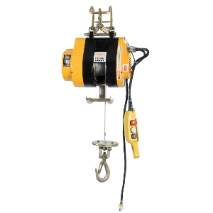 Remote Control AC 230 V Mini Electric Wire Rope Hoist Winch, Wire Rope Pulling Hoist