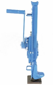 3 Ton Rack Mechanical Pinion Jack Hoists, Non-Slip Recessed Top