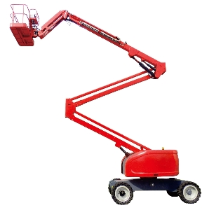 14m Self-Propelled Mobile Man Articulating Boom Lift Price/ Trailer Mounted Boom Lift