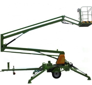 16m Aerial Platform Truck Mobile Articulated Man Boom Lift