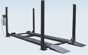 Factory Price Single Post/Two Post/Four Post Car Auto Lift for Wheel Alignment