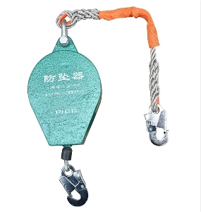 16 mm Wire Rope Safety Vertical Fall Arrest Falling Protector with Retrieval System