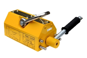 Battery Operated Handle 1000kg Permanent Magnetic Lifter for Lifting Big Plate