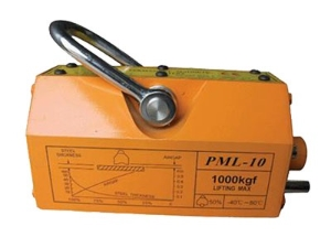 500kg 1000kg 1 2 3 Ton Steel Plate Electro Magnet Lifting Permanent Magnetic Lifter, Magnetic Holder