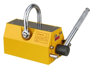 600kg Manual Permanent Magnetic Lifter with 3times Safety Factor