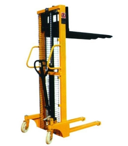Hand Pallet Stacker/Hand Operated Forklift with Foot Pedal