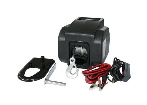 3000lb Small Boat Marine Electric Trailer Winch Power-in, Power-out