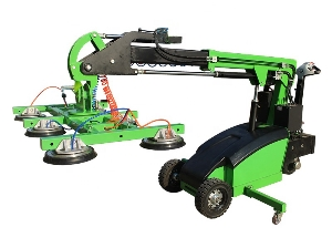 Rotatable glass automatic lifting transport vacuum robot lifter/glass lifting machine