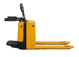 High lift Semi Electric Pallet Truck Electric Pallet jack with Lithium Battery