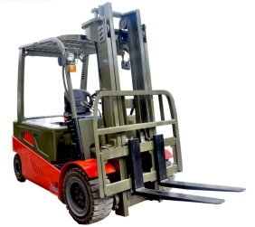 2.5T electric forklift with AC motor for driving and DC motor for lifting