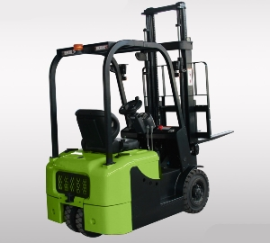3 wheel container lifting electric forklift 1.3-2.0ton with ZAPI AC controller