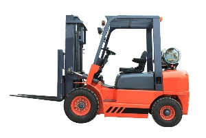 2.5 ton LPG forklift Gasoline&Gas Forklift with American epa approved gasoline engine and customized color