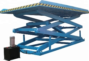 Heavy duty mini scissor lift with safety bellow fixed hydraulic scissor lift table