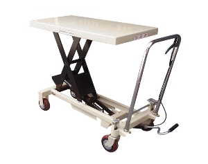 Hydraulic lift Platform Hand Operated Scissor manual Lift Tables