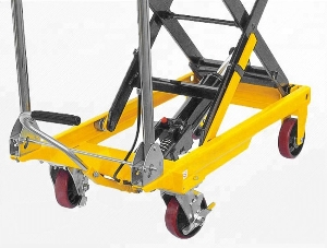 Hydraulic Portable Scissor Lift Table Manual Evaluating Work Platform