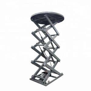 Stage lift platform/Revolving stage for car display/hydraulic lift for show