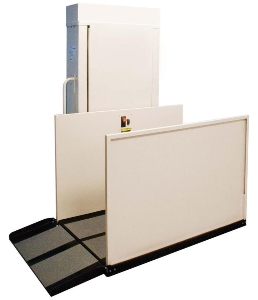 Electric hydraulic porch wheelchair lift for disabled people