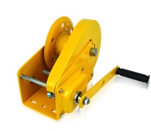 Metal Steel Heavy Duty Manual hand winch with friction brake