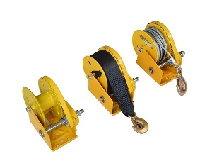 Manual hand winch 304 stainless steel 1800lbs cable hand winch