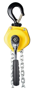 Ratchet manual operated 0.75 ton lever pull lift chain hoist