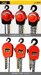 Portable Lifting DHS Electric Chain Hoist 10 Ton