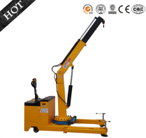 Technical details of 1150kgs Electric floor crane