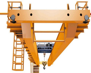 Different Capacities of double girder overhead cranes made in china