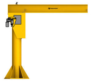 Different Capacities of Jib Cranes made in china