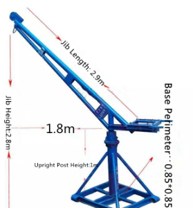 Different Kinds of Mini Construction Cranes made in china