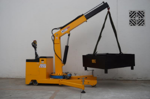 Offer for 500KG floor crane (Battery trolley crane)