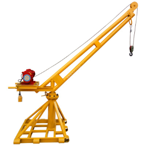 Construction Mini Crane Inside and Outside 200kg 300kg 400kg 500kg Food Lift Small Crane