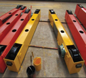 Quotation for 2ton single girder overhead crane end carriage (The span of crane is 12m. The motor for end carriage traveling needs to be without inverter with two speed)
