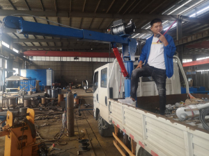 Inquiry for Davit Crane DW32 3.2t