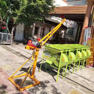 Sample order for mini crane, 100kg capacity, height 20m, 220v single phase
